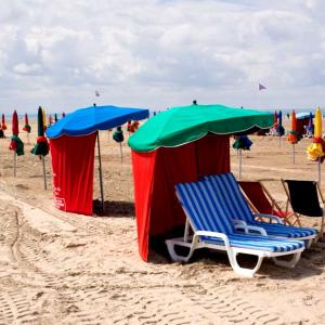 Une journée à Deauville et Trouville Plage Le Samedi 22 Août 2020